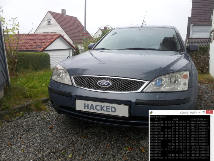Ford Mondeo MK3 CAN hacking