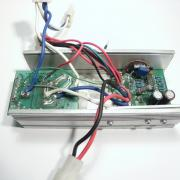 DC motor controller without cover