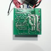 DC motor controller main board, bottom side